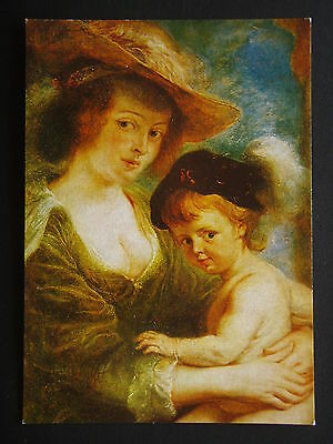 Peter Paul Rubens Helena Fourment With Her Son Frans Postcard