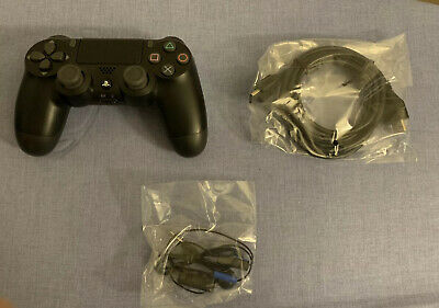 Black Sony DualSchock 4 Wireless Controller for PlayStation 4 New HD And Headset