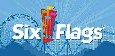 Six Flags Tickets - Four(4) One Day Admission Tickets