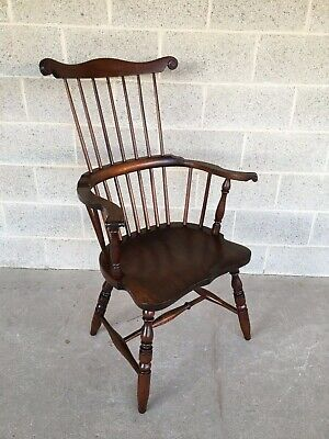 Awe Inspiring Vintage Maple Brace Back Windsor Chairs Hale Co Vermont Pabps2019 Chair Design Images Pabps2019Com
