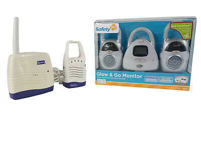 NIB Safety 1st Glow & Go Light Up Temp Display Portable Baby Monitor Bundle