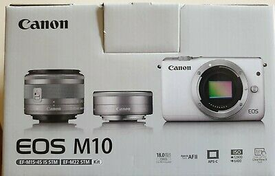 Canon EOS M10 New old stock.