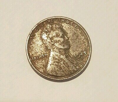 1943 D USA Steel Penny One Cent