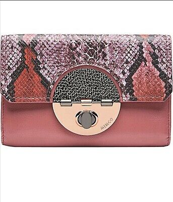 Mimco New Extra Large Turnlock Wallet Pink Bnwt