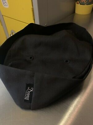 Brand New Chef Hat Denny's Black Size Small
