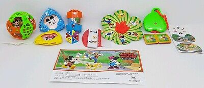 Kinder 2019, Mickey and Minnie Mouse, China, compl. set with all Bpz