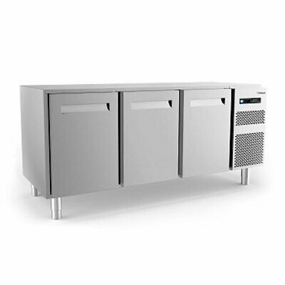 Polaris 256L Three Door Freezer Counter Cabinet