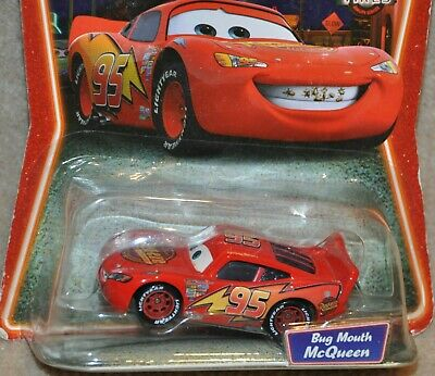 Disney Pixar Cars Diecast BUG MOUTH LIGHTNING MCQUEEN Supercharged Series