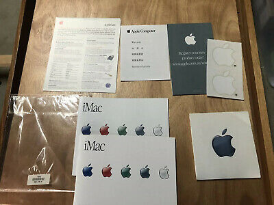 Vintage Apple iMac Bundle With Accessories