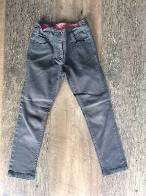 NEXT Girls Age 5 Grey Skinny Trousers