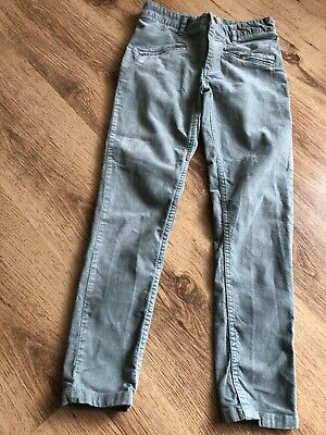 M&S Pale Green Trousers Girls' Age 9-10