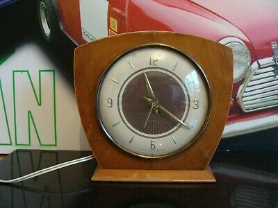 Vintage Smiths Mantle Electric Clock Self Starting Movement Spares Repair