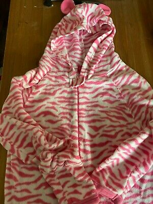 Primark Essentials. Pink Tiger Print All in One. UK size 13 yrs.