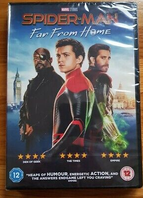Spiderman - Far from Home DVD, NEW