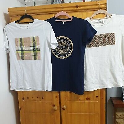 Ladies River Island Tshirt Bundle Size 10