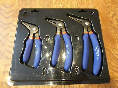 Blue Point Angled Plier Set Of 3 For Garages Shed Workshop Tool Chest Roll Cab