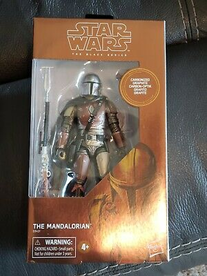 "Star Wars The Black Series 6"" Carbonized Mandalorian TARGET EXCLUSIVE Sold Out!"