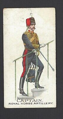 Gallaher - Types Of British Army (Green) - Captain, Royal Horse Artillery