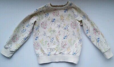Next Girls Floral jumper age 5 - 6 years