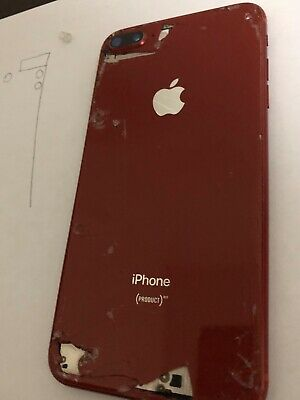 Apple iPhone 8 Plus (PRODUCT)RED - 64GB - (Unlocked) A1864 (CDMA + GSM) READ