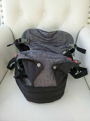 Infantino Flip Advanced 4-in-1 Convertible Carrier Gray and Black