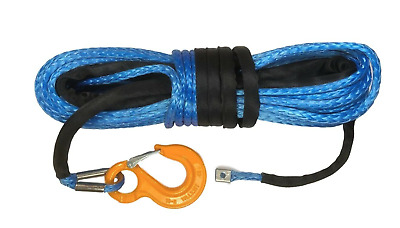 10mm or 11mm Blue Synthetic winch rope Dyneema SK75
