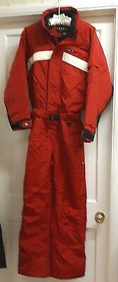TECHNICAL Unisex TRESPASS Red SKI SUIT - Wind and Water Repellent  170 - 176 cm