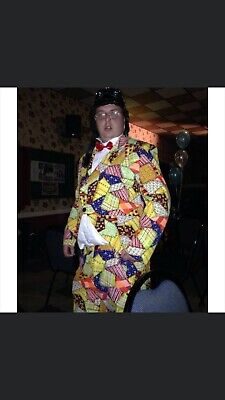 Roy Chubby Brown Fancy Dress Costume