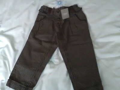 BNWT girls trousers by Next aged 1.5 to 2 years