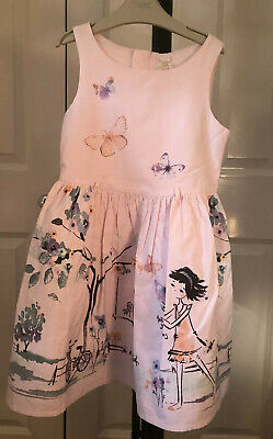 Beautiful Next Size 6-7 Years (122cm) Pink Party Dress VGC!