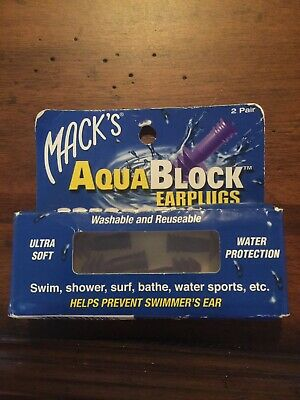 Mack's Silicone Ear Plugs - 2 count