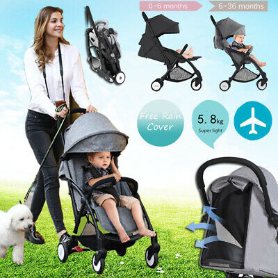 New Style Compact Lightweight Baby Pram Stroller Travel Pushchair Carry-on Plane