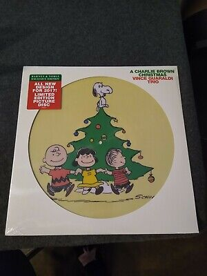 Charlie Brown Christmas PICTURE DISC Vince Guaraldi lp vinyl 2017 SEALED Limited