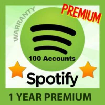 Spotify Premium Account 🔥🔥1 YEAR / 12 Months 🔥🔥1H Delivery🔥🔥