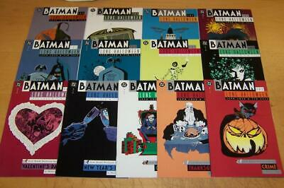 Dc Comics Batman The Long Halloween 1-13 Full Set Loeb Sale 1996/97
