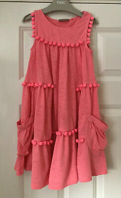 Beautiful Girls Next Size 5-6 Years (116cm) Pink Summer Dress *Holiday