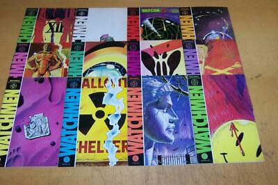 Dc Comics Watchmen 1-12 Full Set Alan Moore Dave Gibbons 1986/87