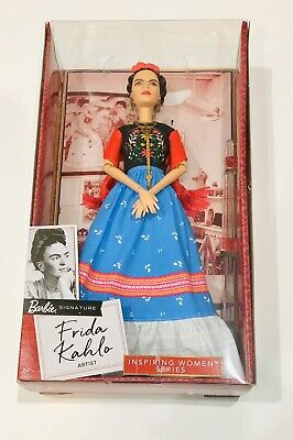 Barbie Inspiring Women Series Frida Kahlo Doll Mattel BRAND NEW Gift Ships Fast