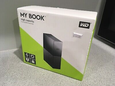 Brand New Wd My Book 6Tb External Hdd Hard Disk Drive