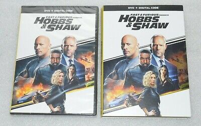 New Fast & Furious Presents: Hobbs and Shaw [Includes Digital Copy] [DVD] [2019]
