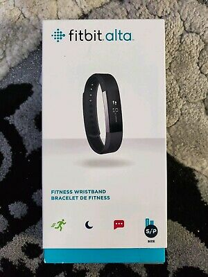 Fitbit Alta Fitness Activity Tracker (Color: Black Size: Small)