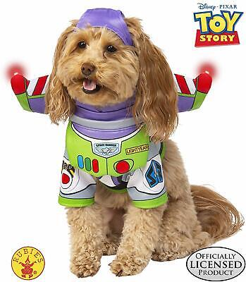 Toy Story 4 Buzz Lightyear Rubie's Disney Pet Costume, Size XS - New In Package