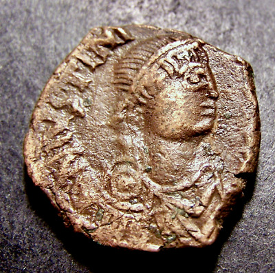 JUSTINIAN I, Christian Cross, Constantinople, 6th Cent. Byzantine Emperor Coin