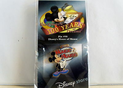 Disney's House of Mickey Mouse Disney 100 Years of Dreams Pin # 98