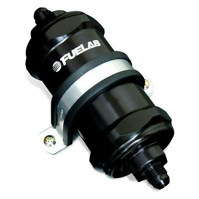 Fuelab Inline Fuel Filter 40 microns 818 Series - 81811-1 6AN