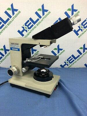 Bausch & Lomb Balplan Base Microscope (31-01-51) w/ Optilume Illuminator