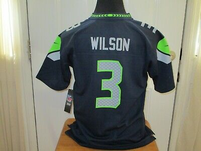 "Men, XL, Navy Seattle Seahawk/'s Russell Wilson /""DangerRuss/"" Socks"