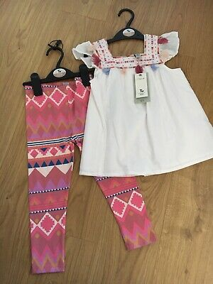 Tu Girls Summer Oufit 2-3 Years BNWT