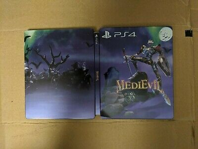 Medievil G2 Steelbook Case only (Playstation 4) No Game