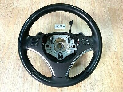 ✅ 11 12 13 OEM BMW E90 E92 E93 Steering Wheel Sport NEW  STYLE PADDLE SHIFTERS